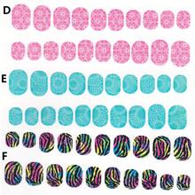 2016 newest 18 strips press fashion ci si series 3d wrap Fashionable nail art polish stickers