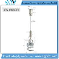 Top Selling Home Light Fitting Decor High Quality LED Hanging Kit