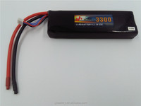 3S Lithium ion polymer li-polymer 11.1V 3300mAh Lithium Polymer rc toy LiPo rechargeable Battery pack