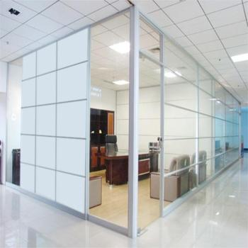 Guangzhou Factory Frosted Glass Office Partitions