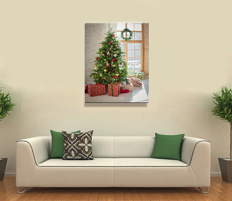 Merry Christmas MDF Wooden Wall Art For Home Decoration