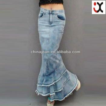 2017 New Designer Fashion Girls Skirt Design Custom Skirt Girl Long