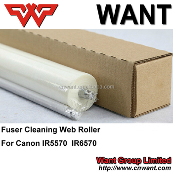Fy1-1157-000 For Canon Copier Cleaning Web Roller Ir5570 Ir6570 Ir5055  Ir5000 Ir5501 Printer Roller For Canon Printer - Buy Ir5570 Fuser Cleaning