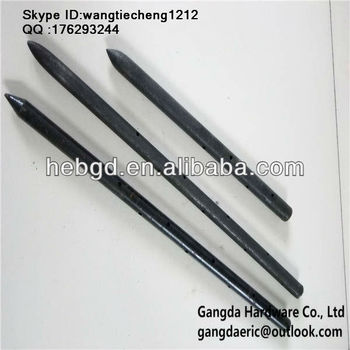 Concrete Accessories Round Metal Stake Nail Steel Stake
