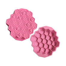 bakeware silicone mold bee honeycomb cake baking mold