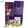 24k Gold Plated Rose Flower Birthday Valentine'S Day Anniversary Gift With Box