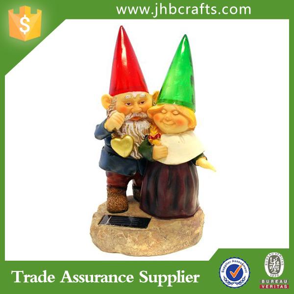 Couple Solar Garden Gnome   Buy Coulpe Garden Gonme,Solar Garden Gnome,Garden  Gnomes Product On Alibaba.com