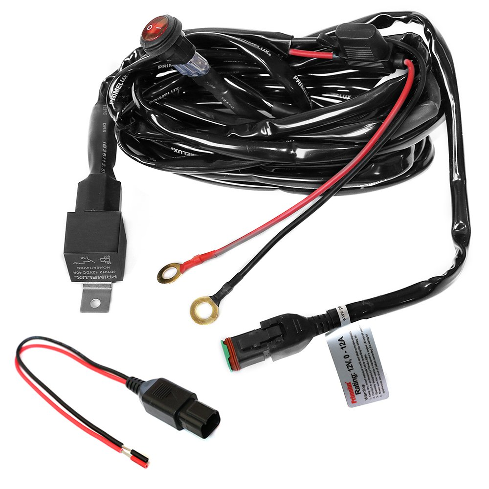 Cheap 4 Pin Relay Wiring Find Deals On Line At Diagram For Hid Lights Also Get Quotations Primelux Pwh 011601 12ft 16 Gauge Harness Led Light Bars 12v