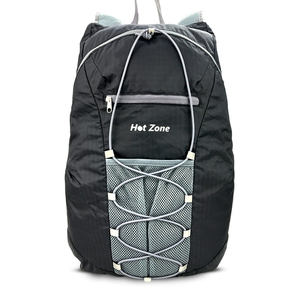 Nylon 20L large capacity light weight folding air travel backpack
