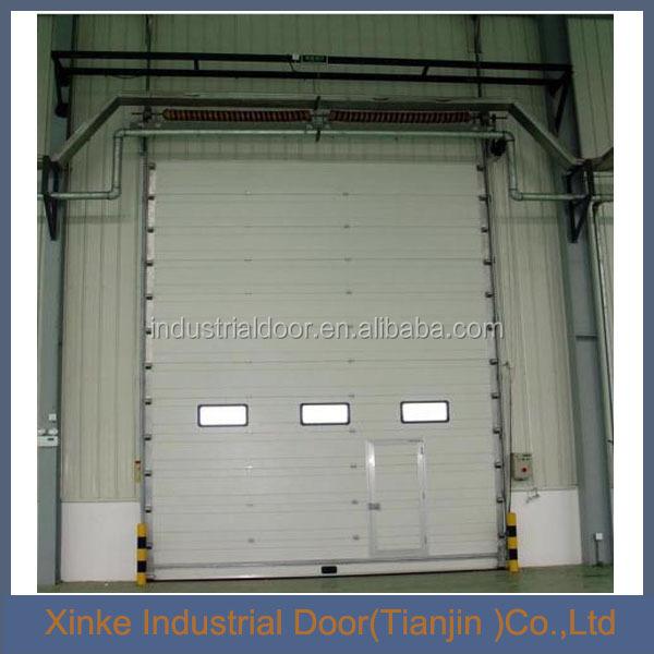 Aislamiento autom tico de puertas seccionales para viviendas y naves industriales puertas - Puertas para naves industriales ...