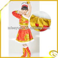 China manufacturer modern dance team costumes Girls