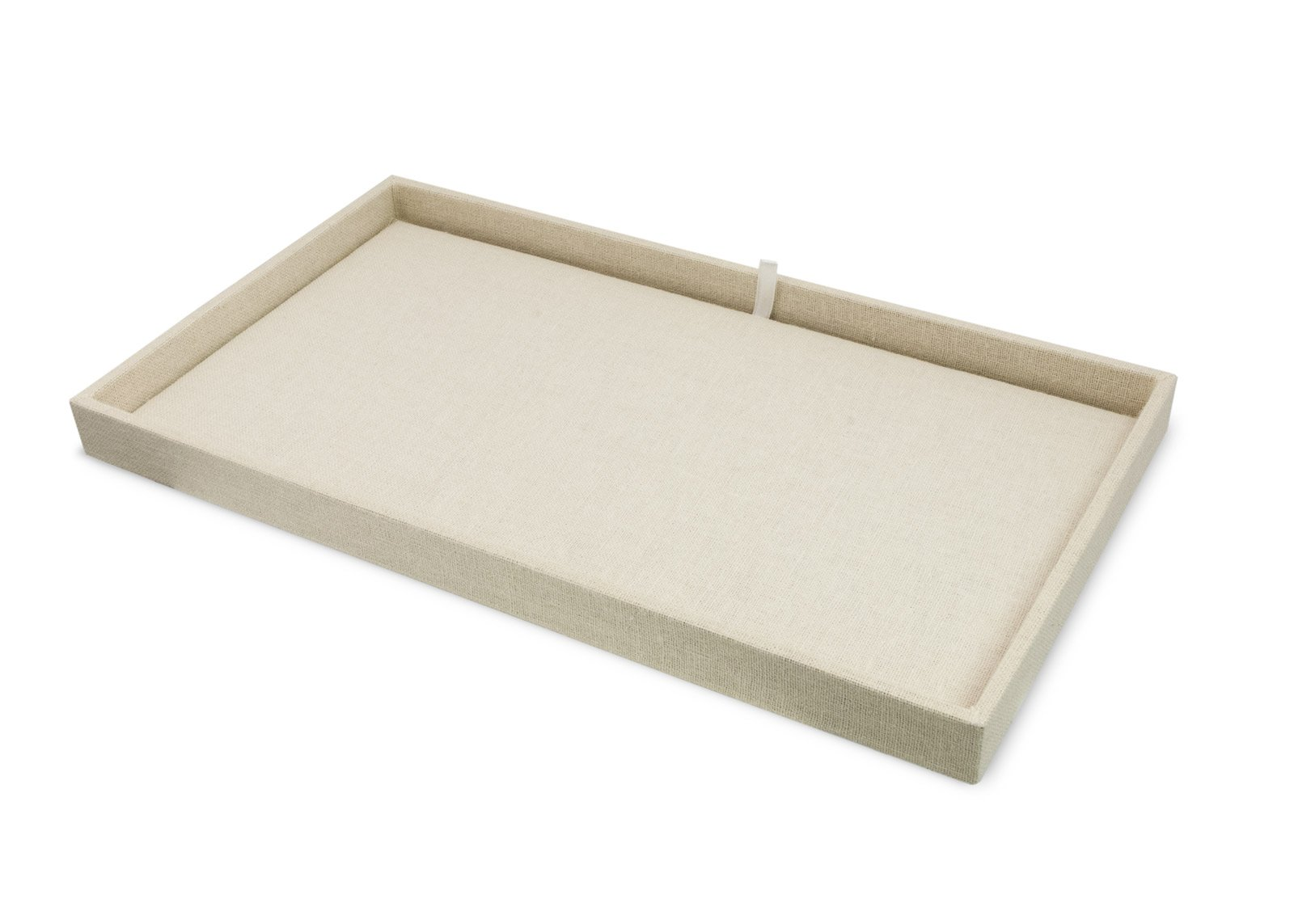 Linen Project Tray and Insert Pad for Jewelry Display