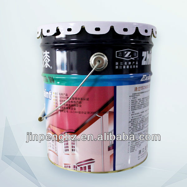 printed painting round big metal keg manufacturer with handle