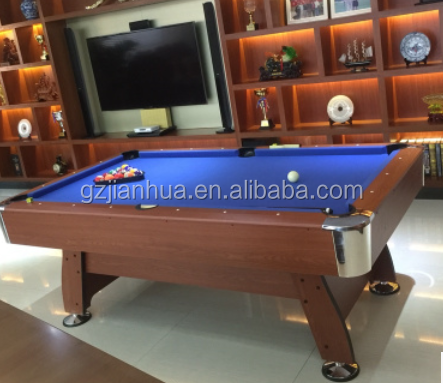 S204 High quality Fancy 9 Balls French Billiard Table Pool Table