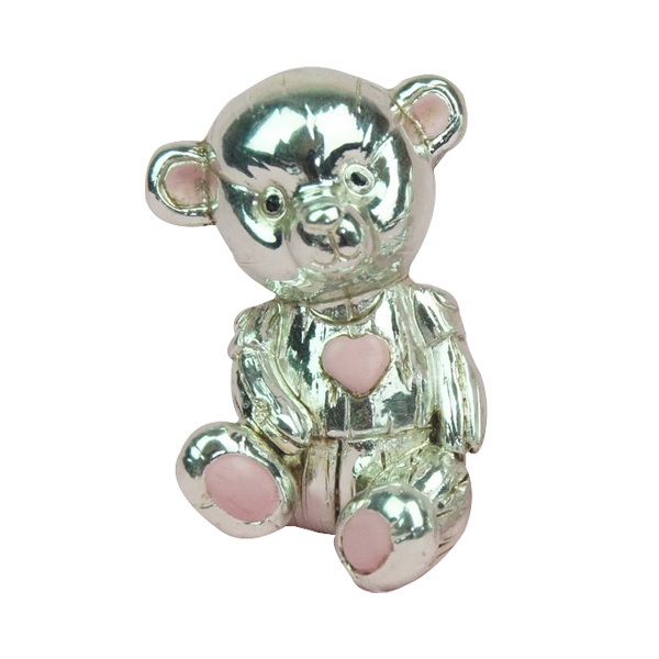 Resin bear shaped silver plated gifts
