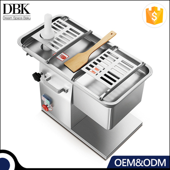 Anodized aluminum alloy body Slicing and grinding machine with food grade stainless steel food tray