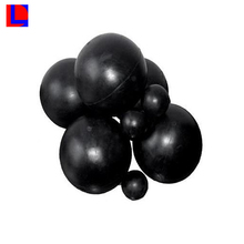custom with high quality epdm cr ome nbr nr sbr solid rubber balls
