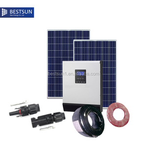 Freedom 3kw home solar panel system for home kits kit grid system solar power plant 220v BESTSUN product