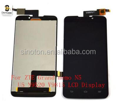 New 5.7''inch For ZTE Grand memo N5 U5 N9520 V9815 LCD Display Touch Screen with Digitizer Assembly,Black