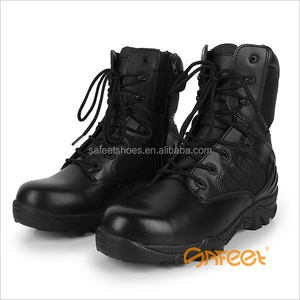 Genuine leather army boots security guard leather cheap price factory direct SA-8311