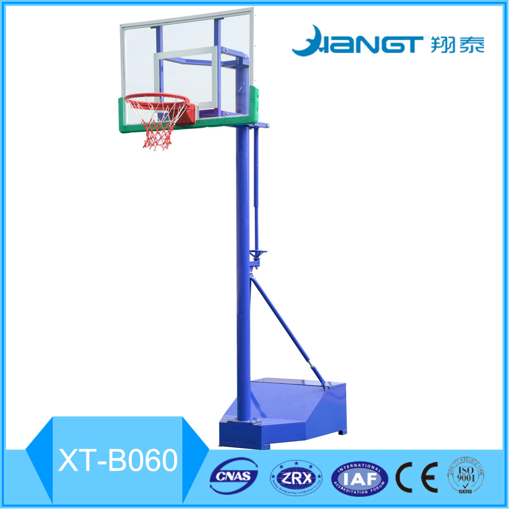 2016 Hot sales glass fiber backboard basketball stand basketball hoop