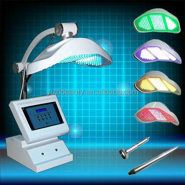 LED blue red light therapy for skin/PDT photon led hair rejuvenation