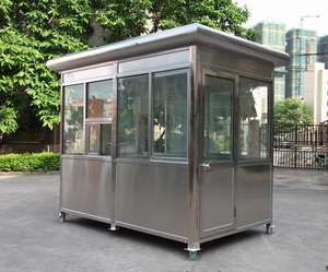 ISO,CE,SGS, certificated small prefab house for security room and guard room