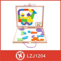 magnetic foam puzzles play with different shapes