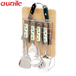 ChuZhiLe China supplier popular kitchen knife holder chopping board holder cutlery holder
