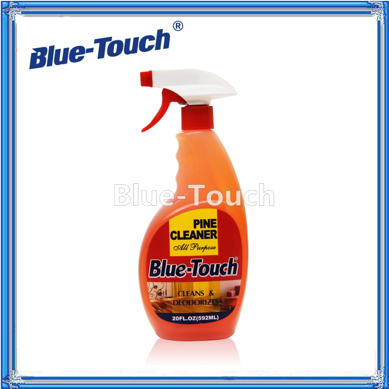 Blue-Touch OEM New China Supplier Pine Cleaner Detergent With trigger spray 600ml