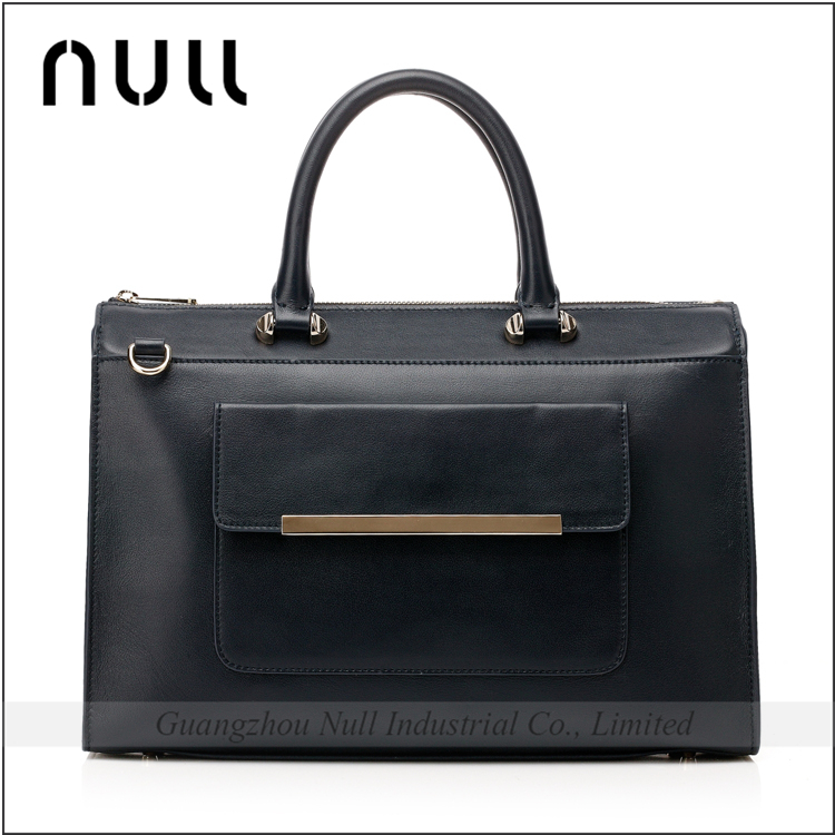 Hot sale tote leather handbag factory man genuine leather the handbag