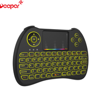 2.4G Ultra Mini Wireless Keyboard Air Mouse H9 Backlit Android Remote Control
