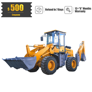 VOTE Brands VTZ25-30 6.0 Ton 122 HP Wheel Tractor Backhoe and Front Loader with Mower