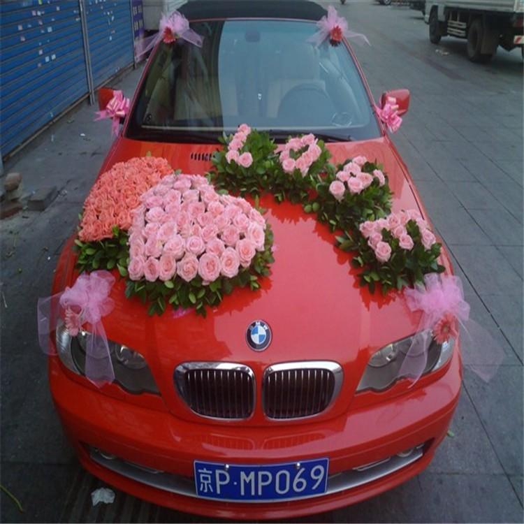 цветочная композиция bmw