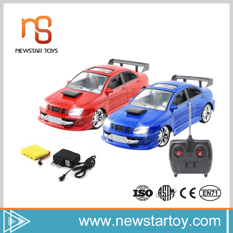 New model 4 channel 1:16 rc with light car racing games for boys