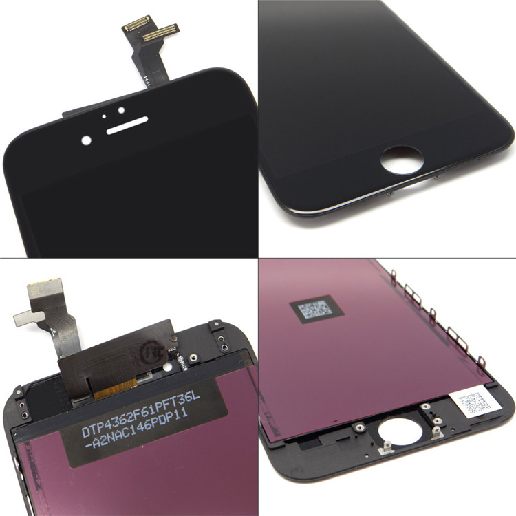 HQ 6 GRANDEVER AAA para iphone Lcd Digitizer Tela