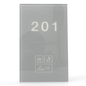 Modern Electronic Hotel Doorbell with Room Number Doorbell DND MUR