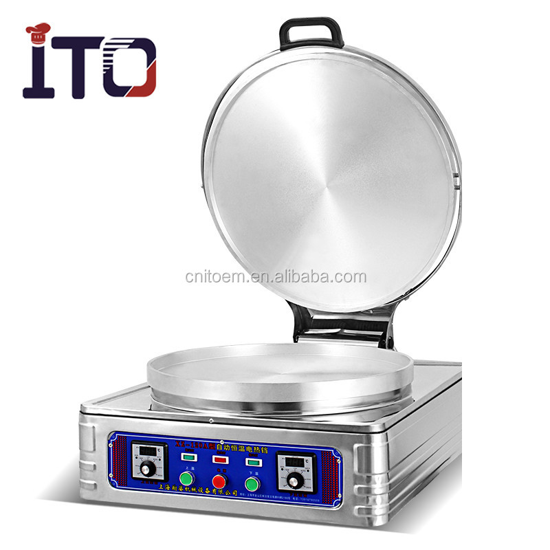 Electricity cake clang electric grill electric baking pan pancake machine/crepe machine