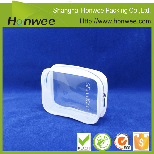 Sample Free OEM Plastic Cosmetic Packaging Bag/ PVC Promotion Bag