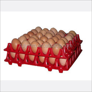 30 holes rigid plastic egg tray with PP material