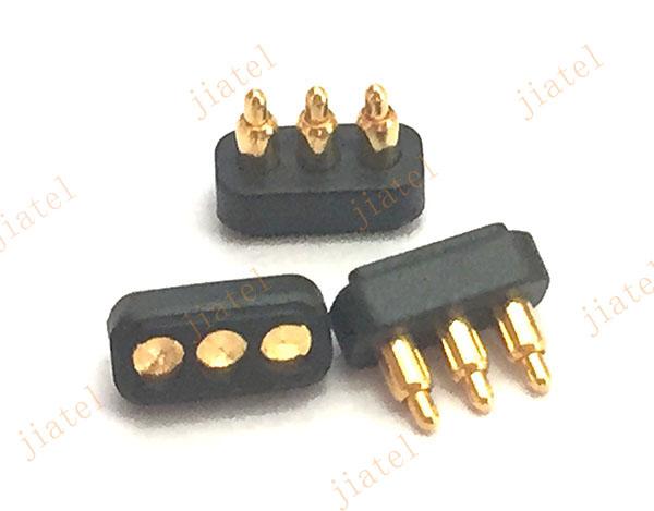 Ip 67 Waterproof 3pin Male Pogo Pin Connector Buy