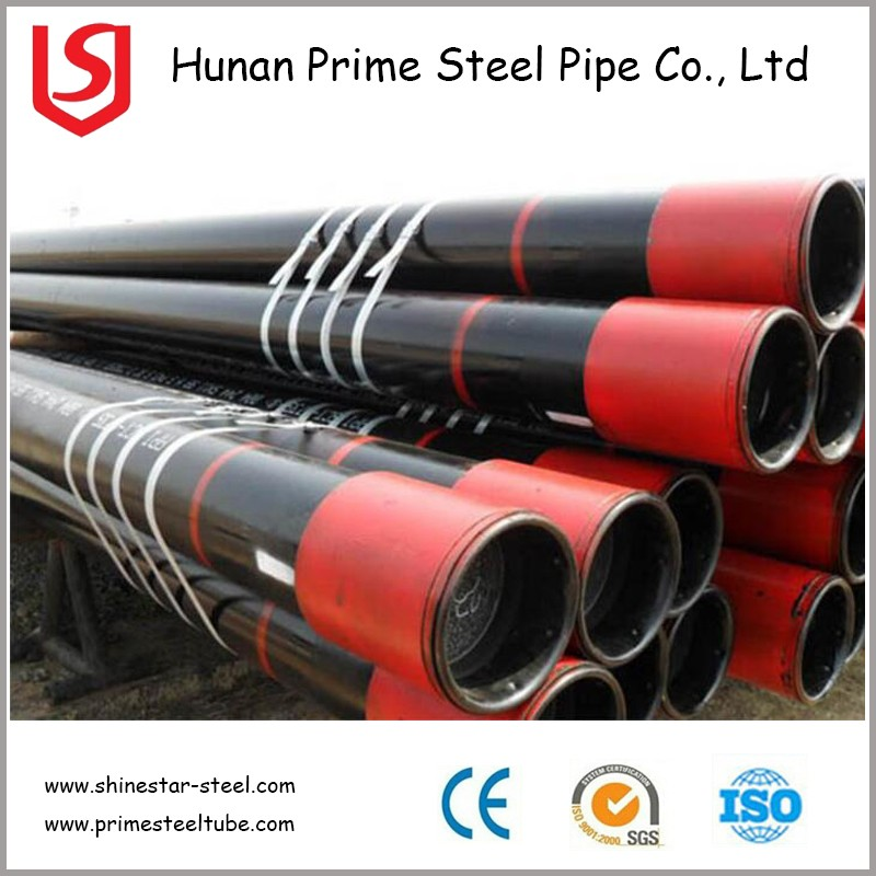 Oil and gas seamless steel pipe API 5CT 5DP drilling pipe casing tubing pipe