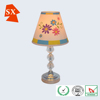 Lovely mini cone TC fabric shade children bedroom table desk decors lamp
