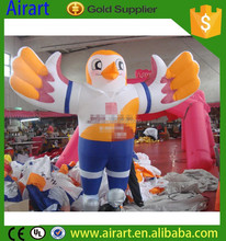 Outdoor decoration inflatable eagle/giant inflatable eagle/customized inflatable eagle
