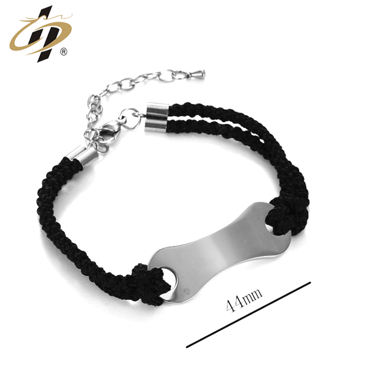 Hot selling model metal stainless steel bracelet men charm bangles