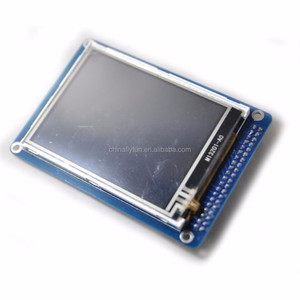 "DIYmall Touch Screen Panel +3.2"" inch TFT LCD Module Display+ PCB Adapter Blue SSD1289 with SD Card Slot 65K Colors"