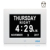 SSA Dementia Day Alarm Clock Perfect for Seniors, Digital Day Clock For Senile Dementia,Alzheimer's Disease And Memo Loss People