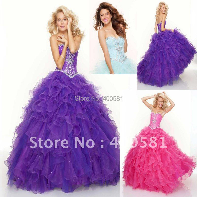 Hot Sale Sweetheart Corset Gothic Purple Wedding Dress: Aliexpress.com : Buy Blingbling Sweetheart Ball Gown Floor