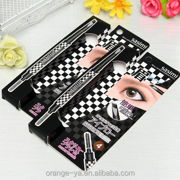 Waterproof Makeup eyebrow pencil good for eyebrow stamps