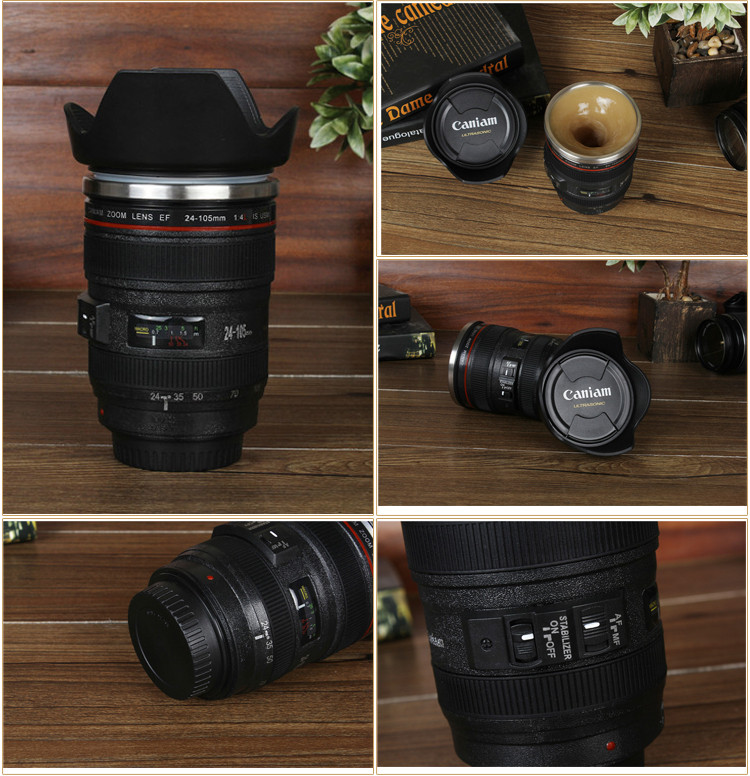 China Wholesale Creative Caniam 24-105 Camera Lens Stainless Steel ...